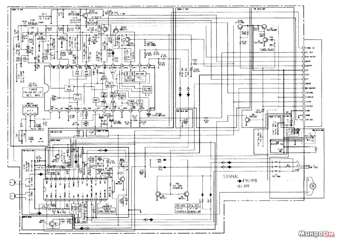 Проигрыватели микроом электросхемы доступные каждому
