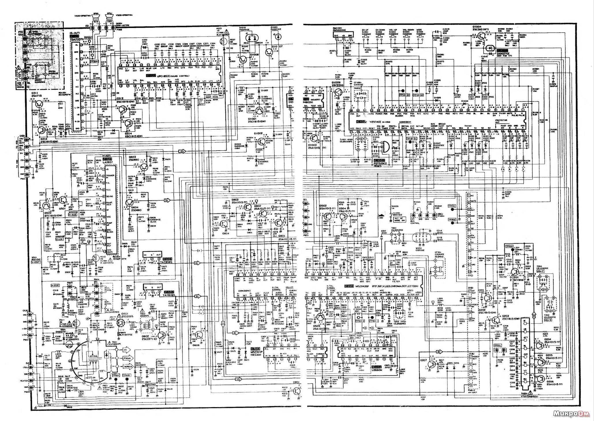 шасси 11ак30 схема
