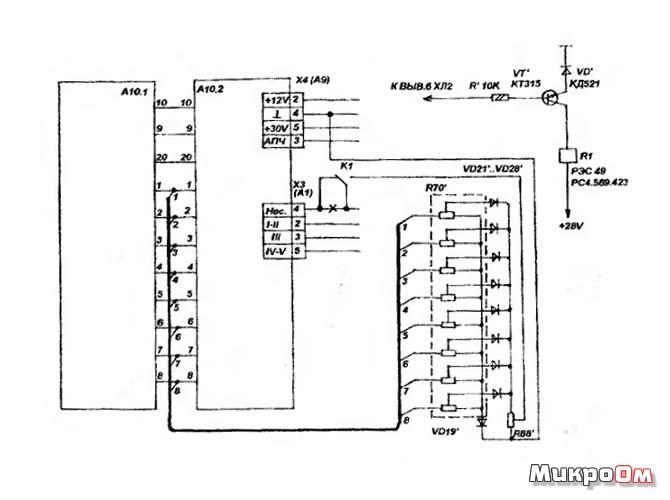 Схема 16-ти программ в 3-УСЦТ