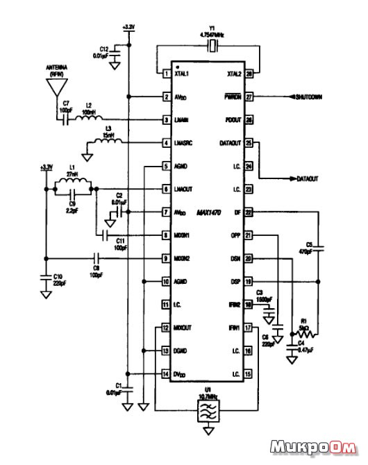 Микросхема MAX1470