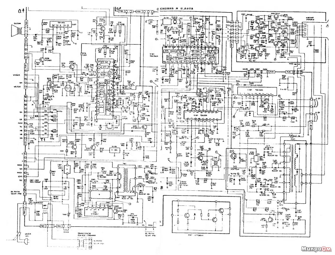 детектор радиочастоты схема