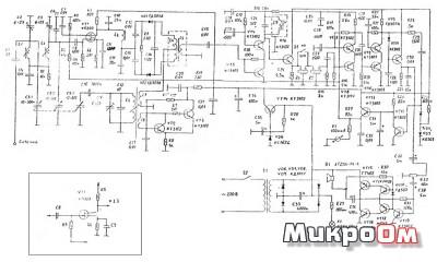 Схема КВ приемника 13,5-5,5 МГц